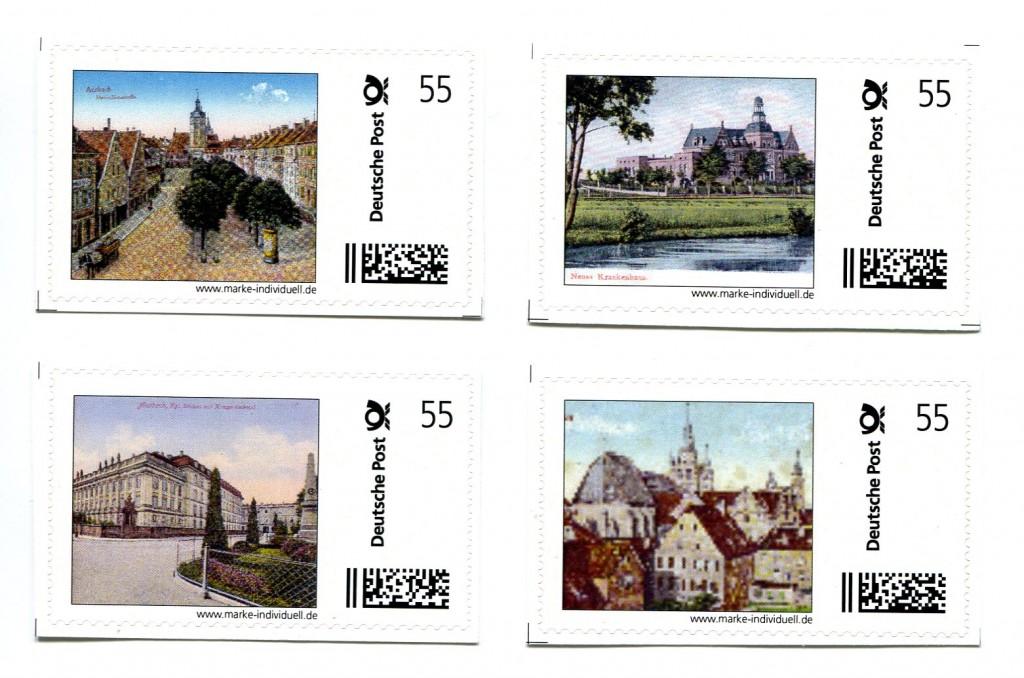 2. Briefmarkenausgabe des BSV - Ansbach